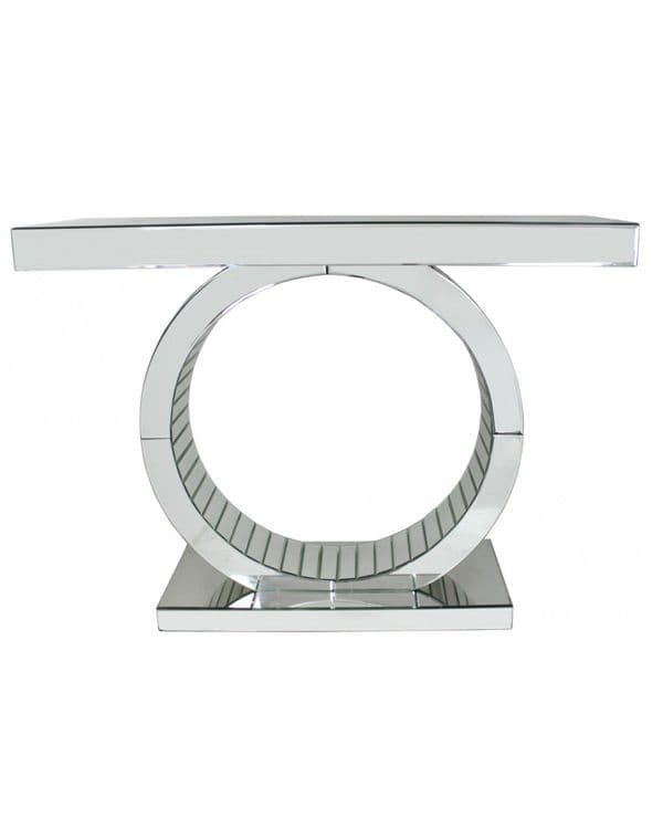 Classic Mirrored  'O' Frame Console Table